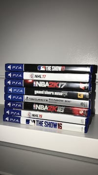 PS4 games Barrie, L4M 2M1