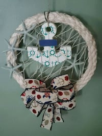 NAUTICAL ROPE WREATH HANDMADE BY ME.  Levittown, 11756
