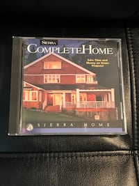 Complete Home by Sierra Home includes Disc and 2 books.