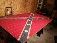 red and white wooden table Tyler, 75703