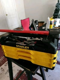 yellow and black Stanley toolbox Crosby, 77532