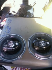 two black car subwoofer speakers Kennewick, 99336