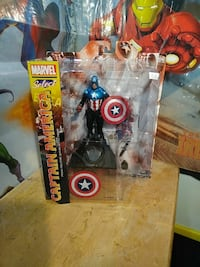 Captain America vinyl figure with box