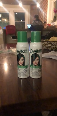 green hair spray (wash out) 39 km