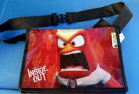 "INSIDE OUT  ""SUBWAY 2015""    MESENGER / LUNCH BAG  San Diego, 92110"