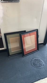 16 x 20 Brown/Black frames (glass with green surround)