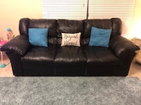 Black leather couches Rockledge, 32955
