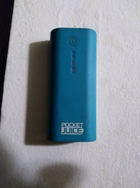 Pocket juice portable charger