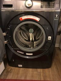 black front-load clothes washer Raleigh, 27606