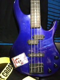 Deep ocean blue electric bass Lake Elsinore, 92530