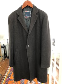 black notch lapel suit jacket Great Falls
