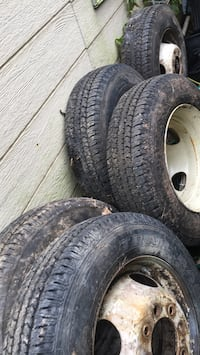 four gray auto wheel with tires Gaithersburg, 20877