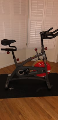 black and red stationary bike Springfield, 22150