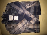 1) Abercrombie jacket, boys size 11. 2) Spring or Fall rain jacket with pouch, girls 10-12 547 km