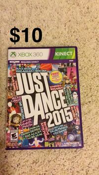 Just Dance 2015 Xbox 360 game case