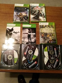 8 Xbox 360 games Woodstock, 30188