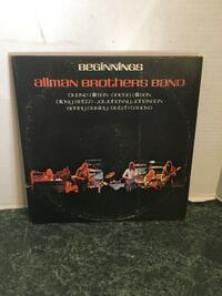Record Allman Brothers DOUBLE ALBUM Milford, 18337