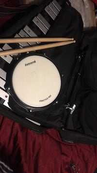 black and white snare drum 465 mi