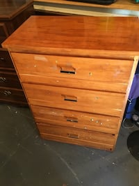 brown wooden 4-drawer dresser Dartmouth, B2Y