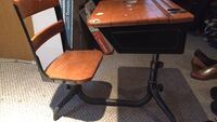 Iron desk for youth age,