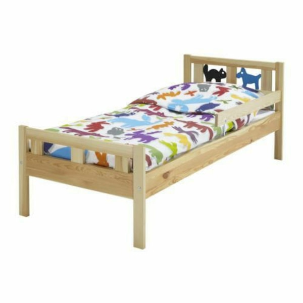 Used Ikea Kritter bed with Vyssa mattress for sale in Pittsburgh - letgo