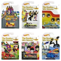 Hot Wheels The Beatles Yellow Submarine 50th Anniversary Complete Set of 6 Oklahoma City