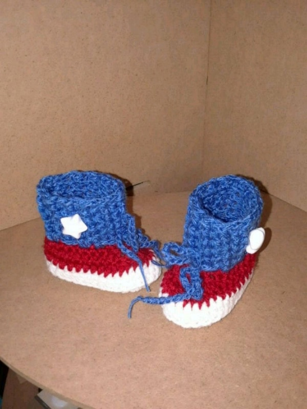Used 3 Months Crochet Baby Booties For Sale In Killeen Letgo