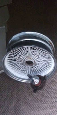 chrome multi-spoke car wheel Jacksonville, 28540