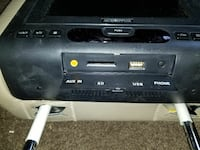 Audiovox headrest DVD players