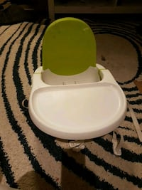baby's white and green floor seat Vancouver, V5X 1J6