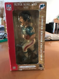 "LARRY CSONKA BOBBLEHEAD SUPER BOWL 8 MVP 2003 almost impossible to find. Top quality 9.5"" tall Larry Csonka Miami Dolphins Super Bowl VIII MVP ""Legends of the Field"" bobblehead ~ from the original 2003 Limited Edition First Series. Willing to trade for mu Pembroke Pines, 33026"