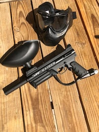 Paintball gun and Mask  Grimes, 50111