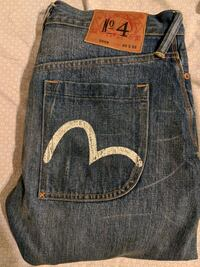 Evisu Japanese Denim W30L32 Straight Fit Toronto, M1B