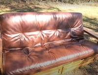 Like New - Leather Futon / Couch / Bed