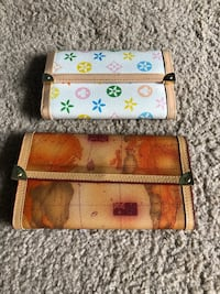 Two brown and red leather wallets San Diego, 92122
