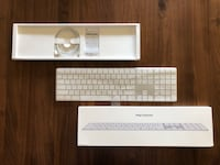 Apple Keyboard with Number pad  Monterey, 93940