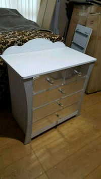white wooden 3-drawer chest Rochdale, OL16