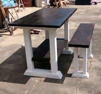 Farmhouse table with bench Yadkinville, 27055