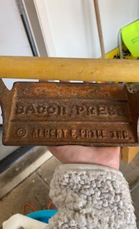 Vintage bacon press Henderson, 89074