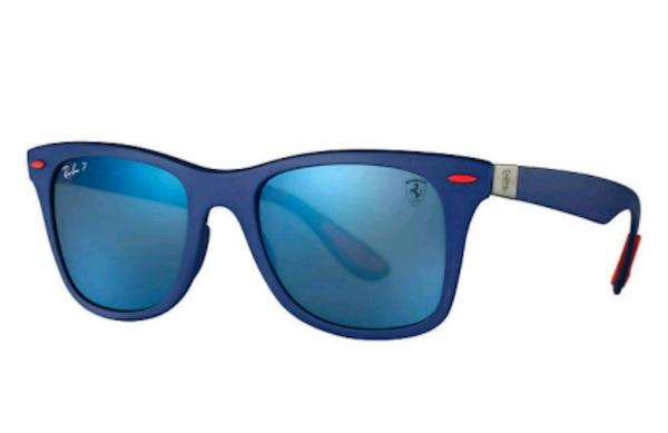 d0ce074e675 blue framed Ray-Ban wayfarer sunglasses. HomeFashion and Accessories San  Jose