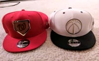 red and black fitted cap Alexandria