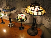 TIFFANY / STAINED GLASS TABLE LAMPS A - 1! Toronto