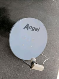 gray Angel TV satellite dish with Motor Mississauga, L5B