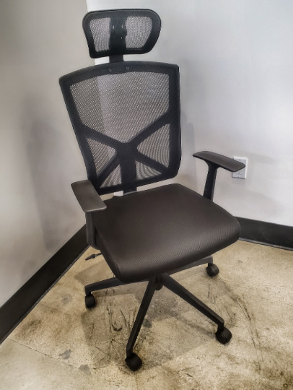 Excellent 2Xhome High Back With Headrest Chair Office Mesh Chair Tilt Arms Lumber Support Large Base Adjustable Swivel Task Executive Home Interior And Landscaping Ponolsignezvosmurscom