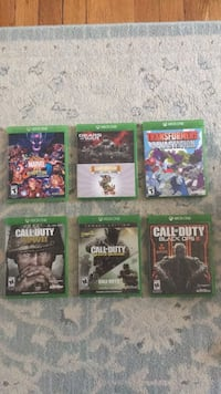 XBOX ONE GAMES call of duty, gears of war, transformers,marvel. New York, 11214