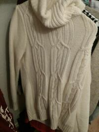 women's white knit turtleneck sweater Shallotte, 28470
