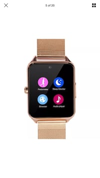 gold aluminum case Apple Watch with milanese loop Rochester, 14615