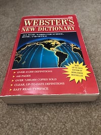 Webster paperback dictionary  Kenosha, 53140