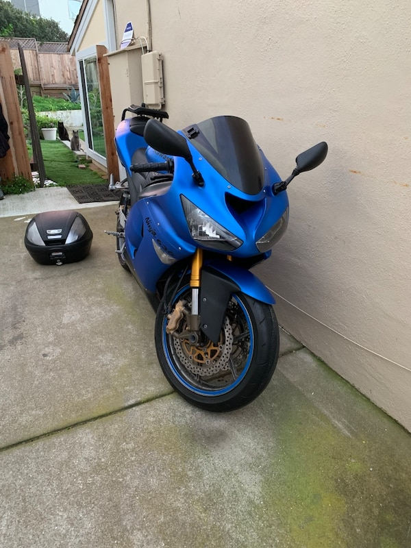 Used Supersports Motorcycle Kawasaki Ninja Zx6r Zx636 For Sale In