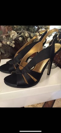 BNIB NINE WEST BLACK OPEN TOE SLINGBACKS Size:10*JULY FLASH SALE*